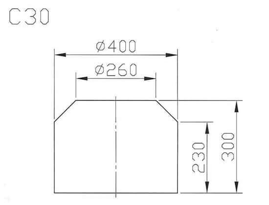 C30最大工件尺寸圖